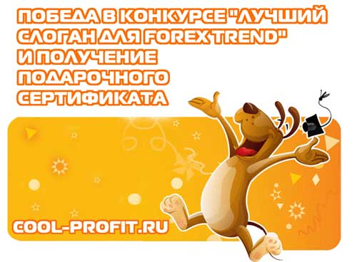 Победа в конкурсе cool-profit.ru