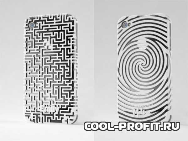 футляр для смартфона сделанный с помощью 3d ручки cool-profit.ru