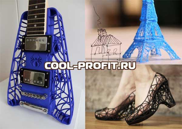 результаты работы 3d ручки cool-profit.ru