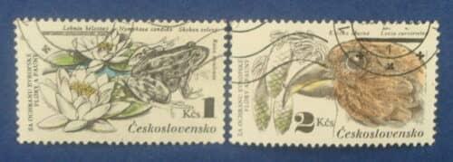 Гашеные почтовые марки